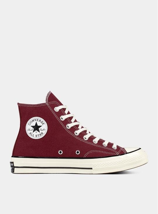 Dark Burgundy / Egret Chuck 70 Hi' Sneakers