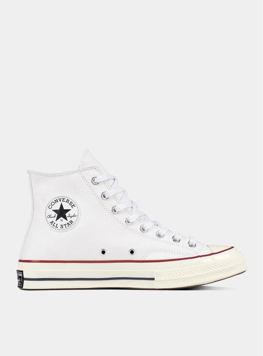 White / Egret Chuck 70 Hi' Sneakers