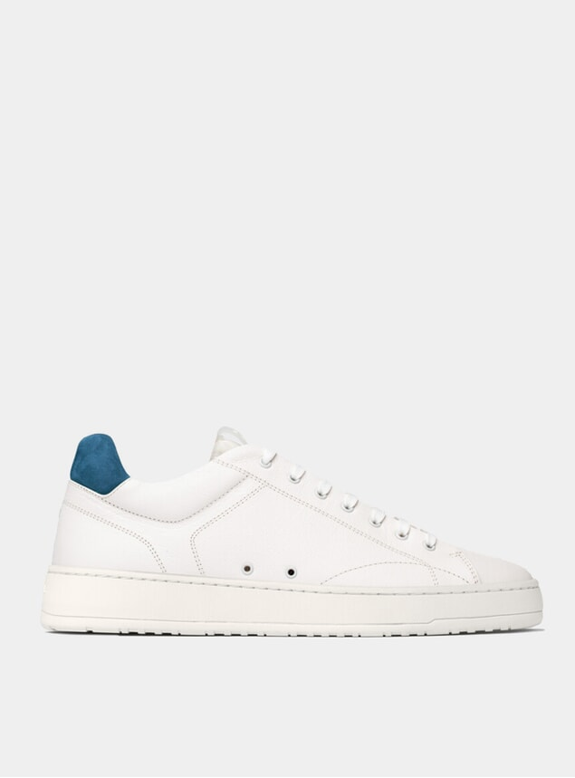Off-Court White / True Blue LT 04 Sneakers