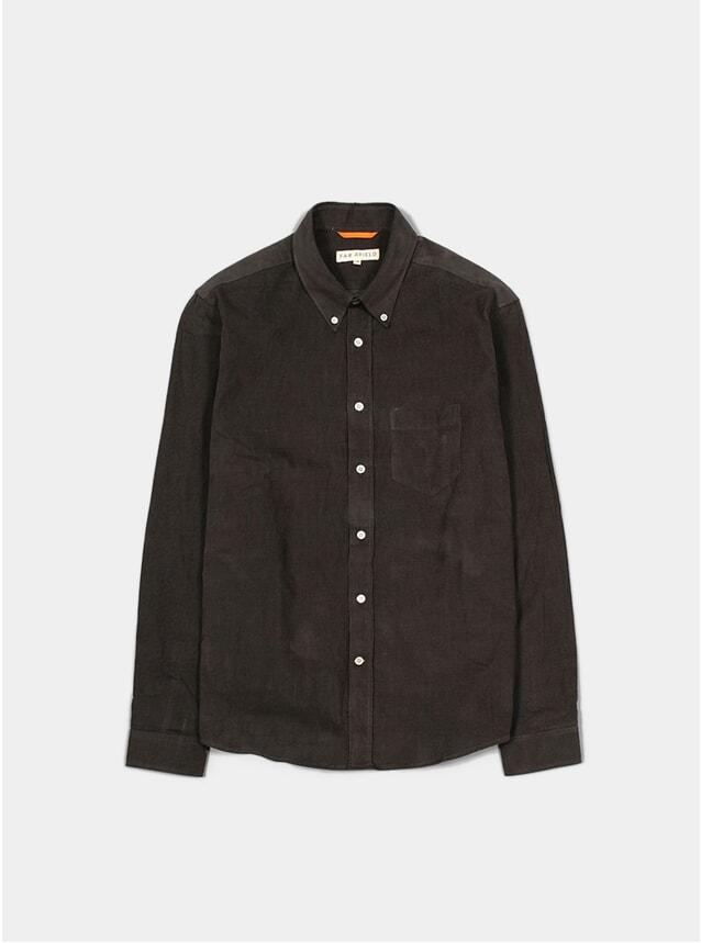 Peat Grey Field L/S Shirt