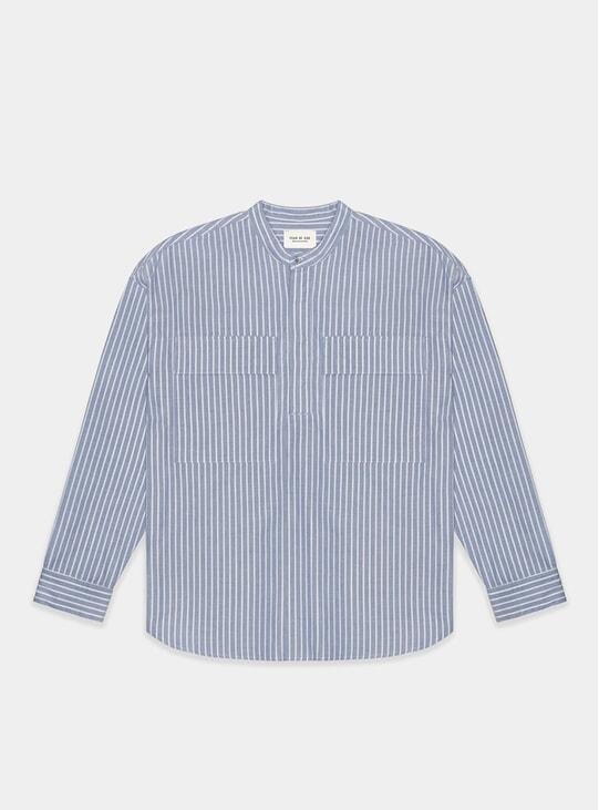 Dad Stripe Pullover Henley Shirt