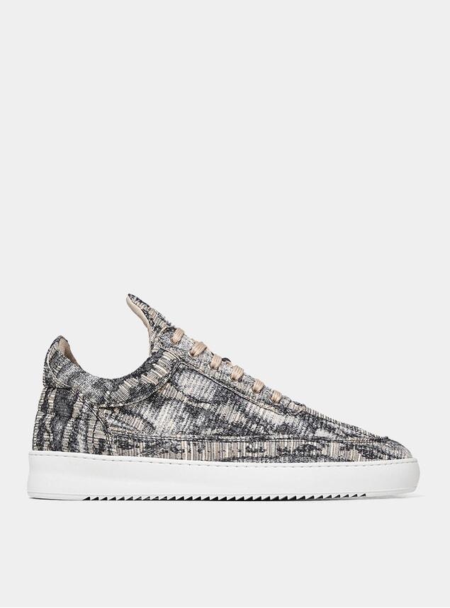 Brown Lagona Low Top Ripple Sneakers