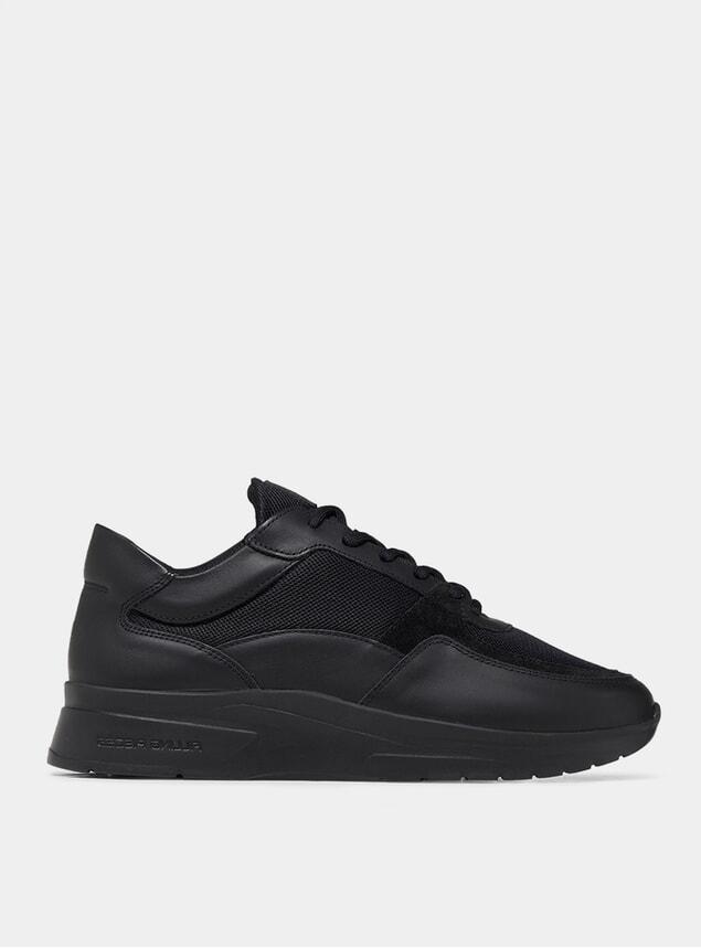 Matt Black Elara Low Kyoto Sneakers