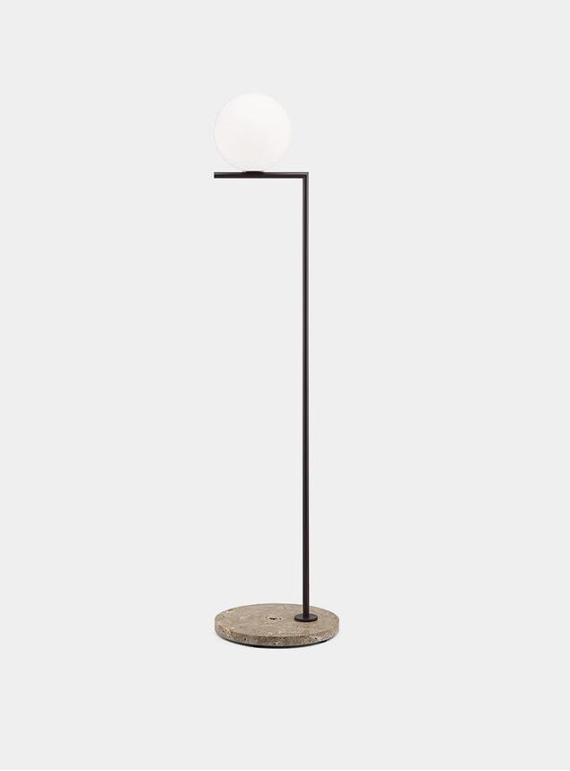 Deep Brown / Stone Base IC F1 Outdoor Lamp