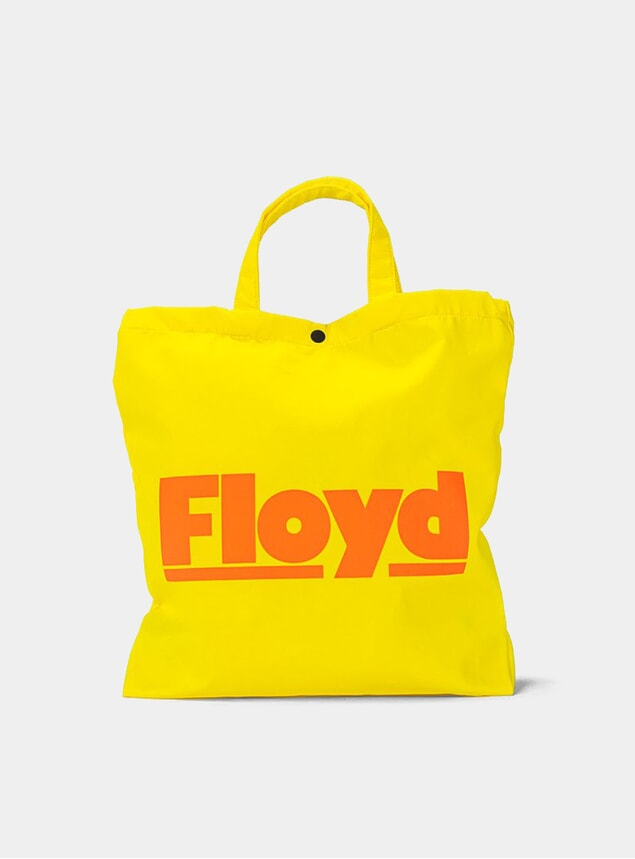 Aloha Yellow Floyd Shopper Tote