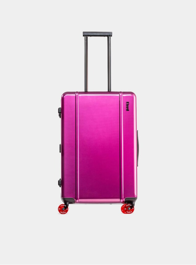 Magic Purple Check-In Suitcase