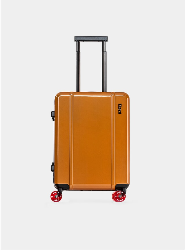 Sunset Orange Cabin Suitcase