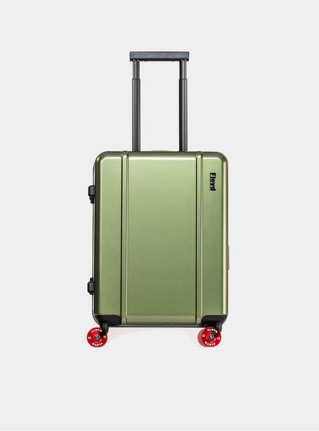 Vegas Green Cabin Suitcase