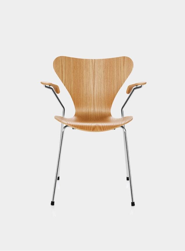 Clear Lacquer Series 7 Chair