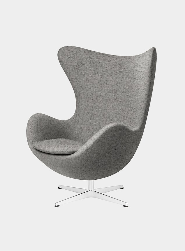 Beige EGG Lounge Chair