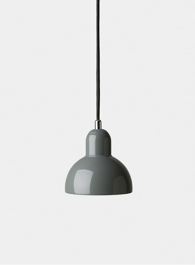 Grey Kaiser Idell Pendant Light