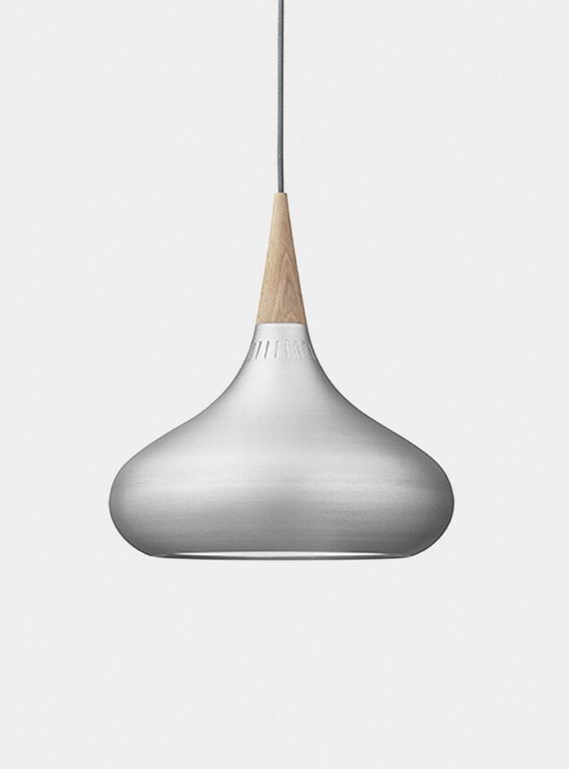 Medium Aluminium Orient Pendant Light