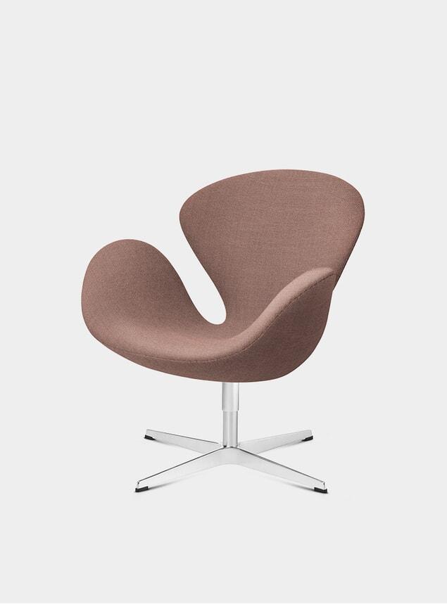 Orange / Red Swan Chair
