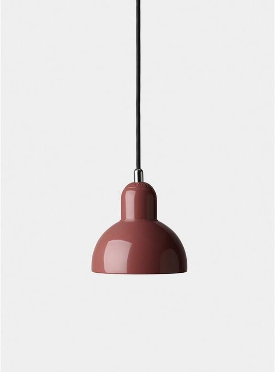 Red Kaiser Idell Pendant Light