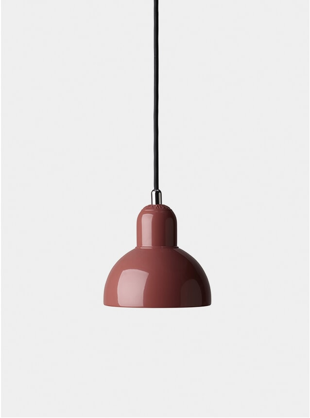 Red Kaiser Idell Pendant Light