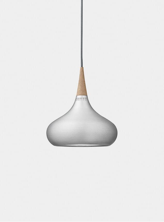 Small Aluminium Orient Pendant Light