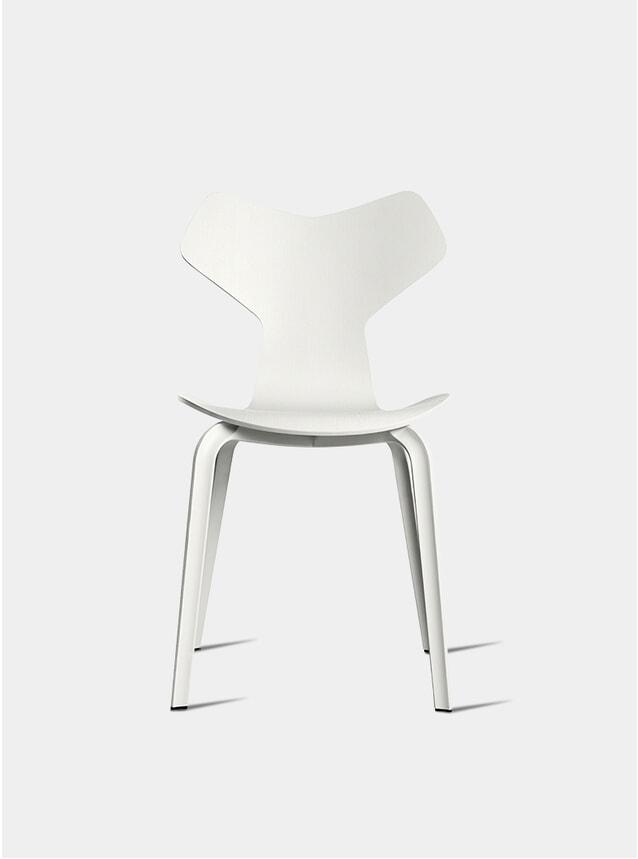 White Grand Prix Chair