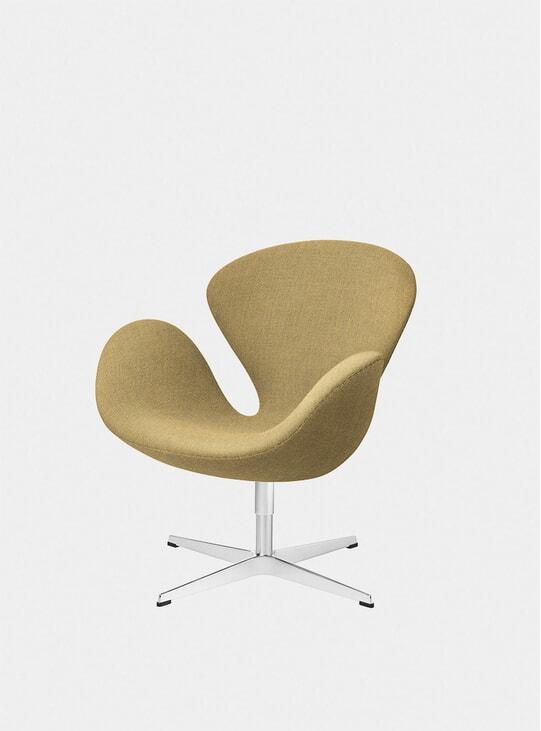 Yellow Swan Chair