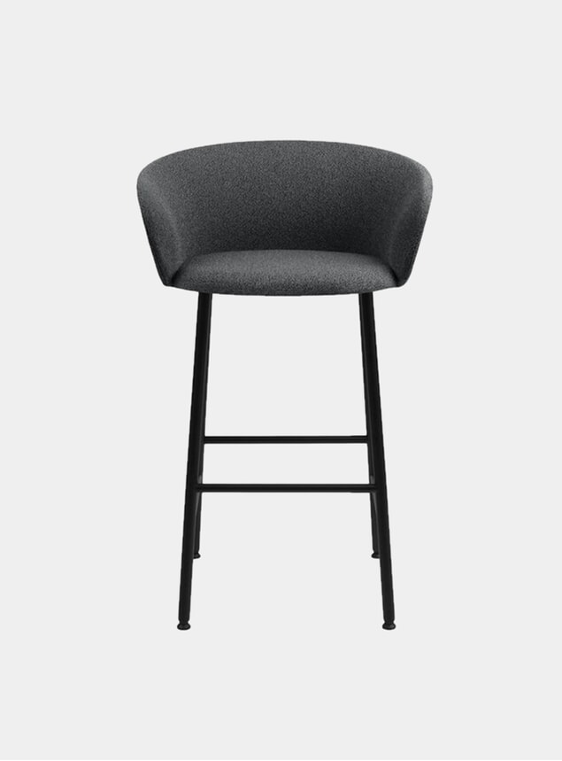 Graphite Kendo Bar Chair