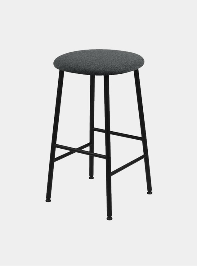 Graphite Kendo Bar Stool