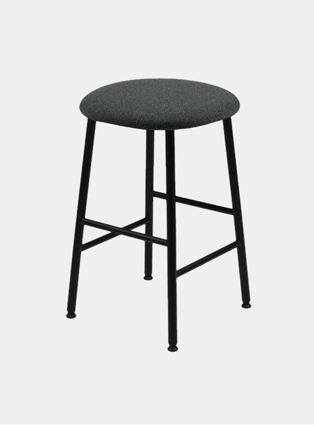 Graphite Kendo Counter Stool