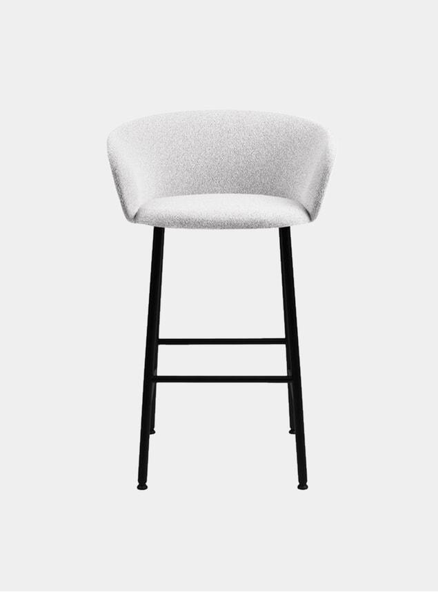 Porcelain Kendo Bar Chair