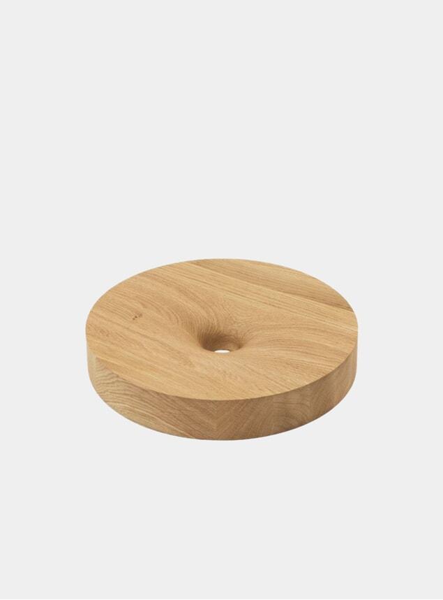 Small Oak O Fruit Bowl