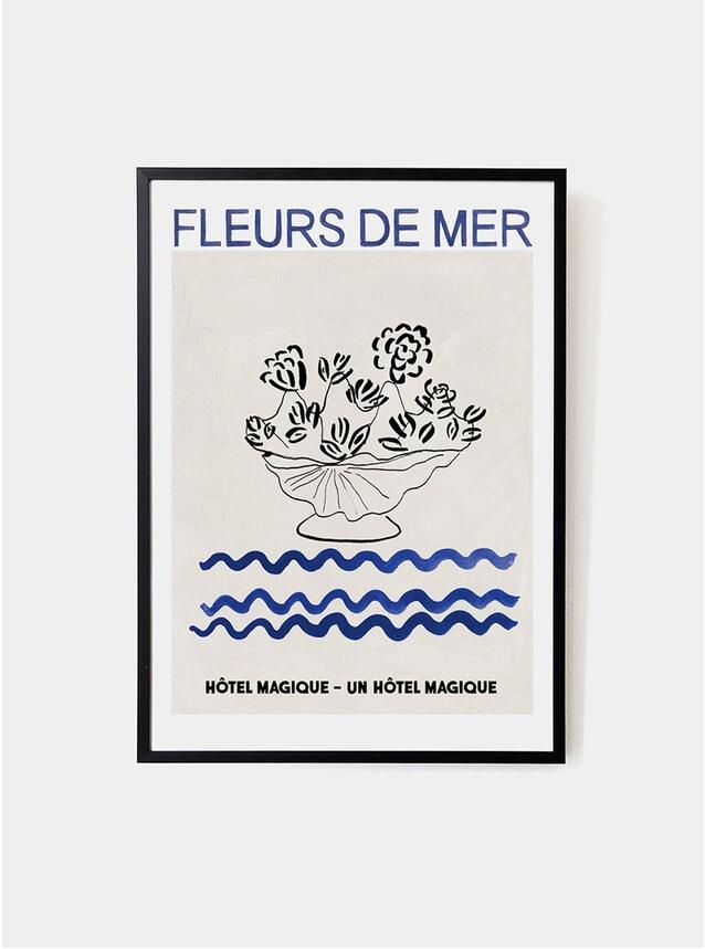 Fleurs De Mer Art Print