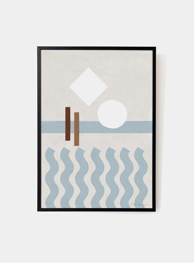Make Waves Art Print