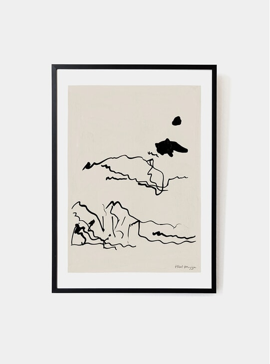 The Sunbathers Art Print