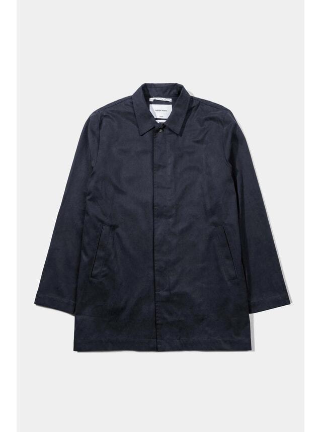 Black Japanese Tencel Trench Coat