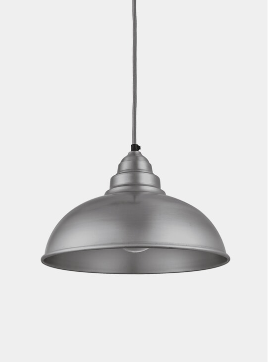 Light Pewter Old Factory Pendant Lamp