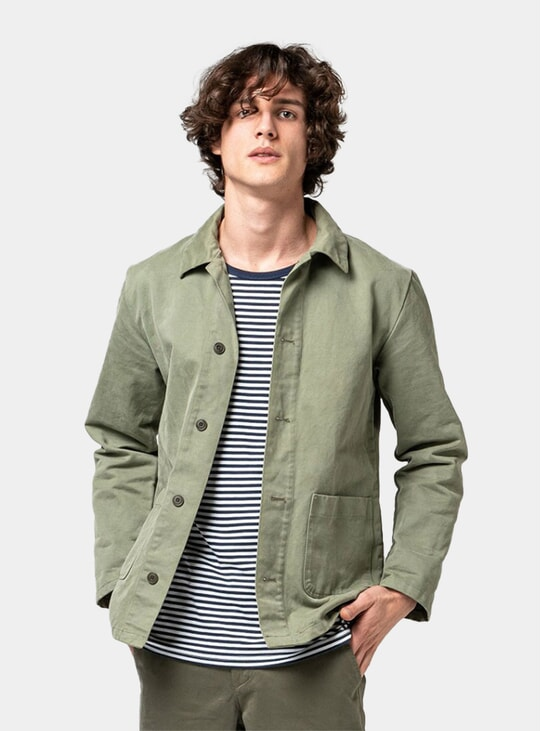 Olive Green Work Jacket
