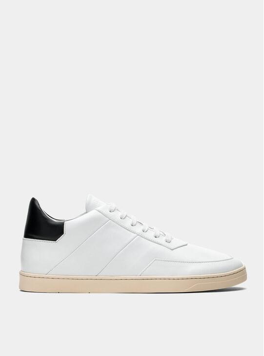 White / Black Atlas Sneakers