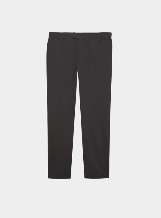 Slate Grey Stretch Cotton 24 Trousers