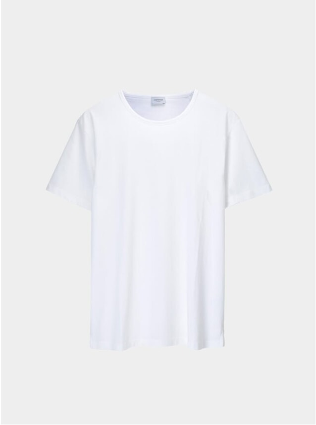 White Supima Tailored T Shirt