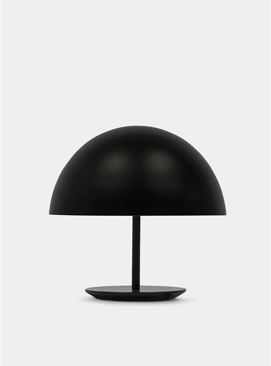 Black Baby Dome Lamp