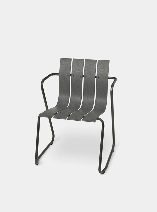 Concrete Green Ocean Chair