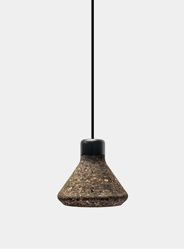 Dark Cork Luiz Pendant Lamp