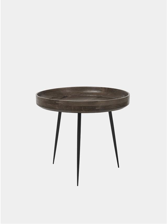 L Sirka Grey Bowl Table
