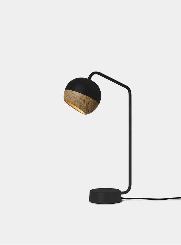 Black Ray Table Lamp
