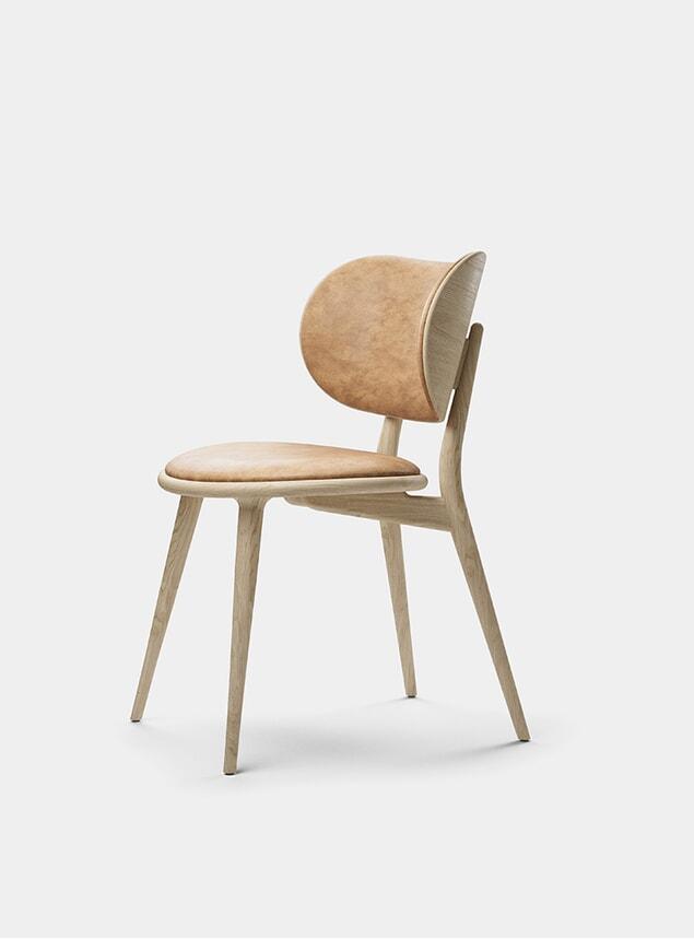 Natural Matt Lacquered Oak Dining Chair