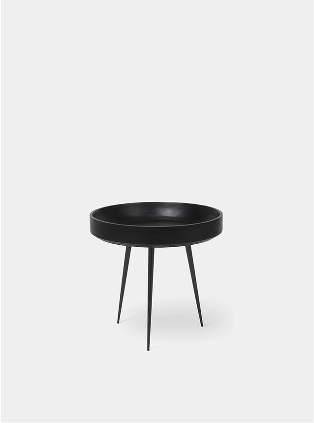 S Black Bowl Table