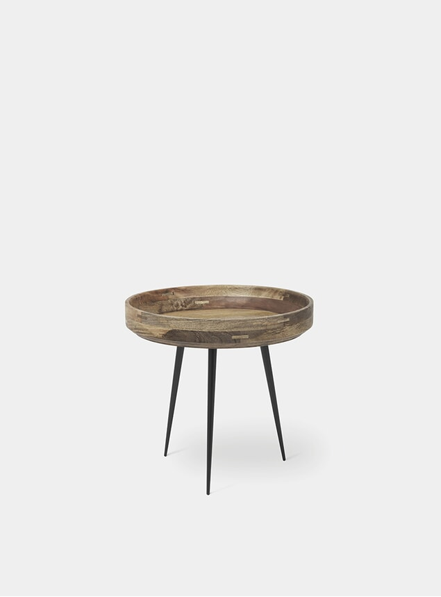 S Natural Bowl Table