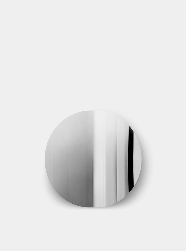 Stainless Imago Mirror Object