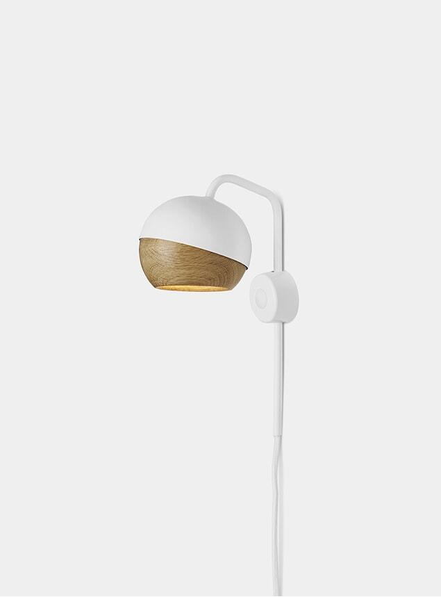 White Ray Wall Lamp