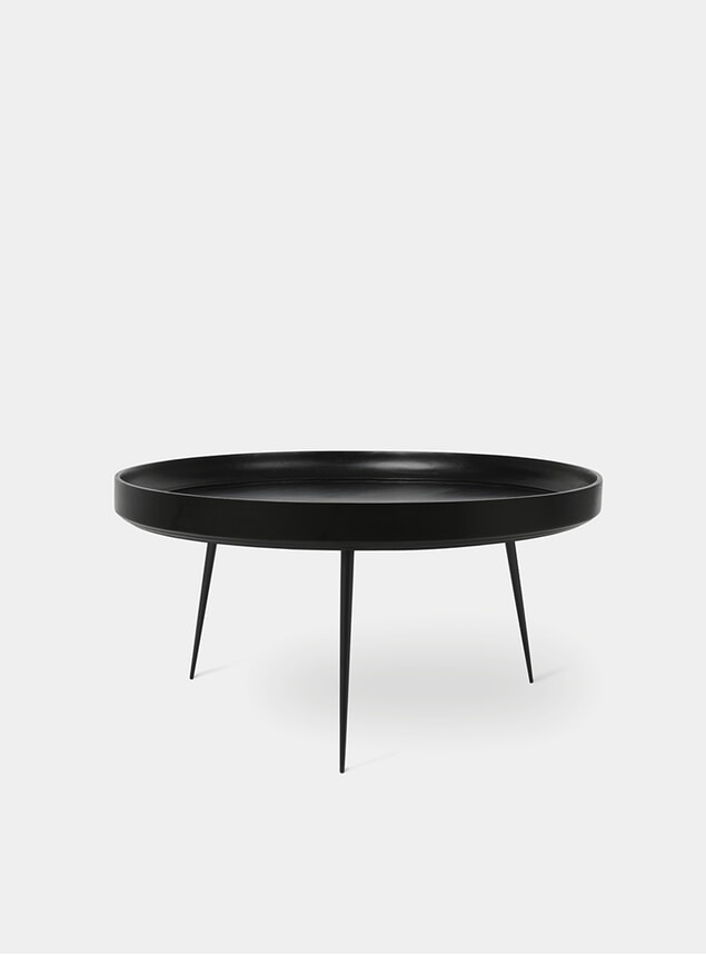 XL Black Bowl Table