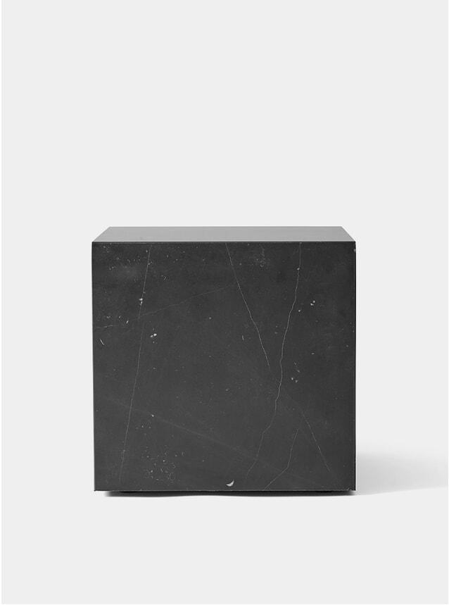 Black Cubic Plinth