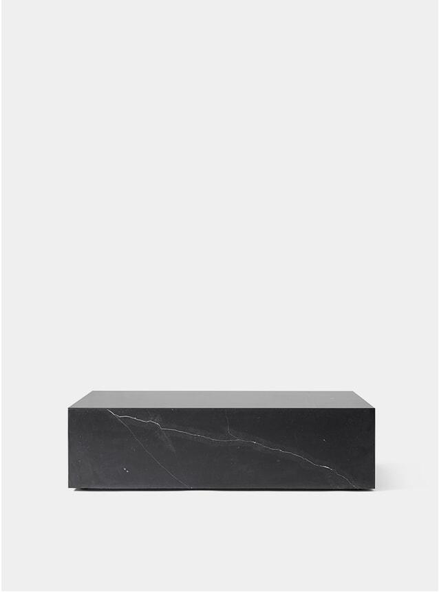 Black Plinth Low