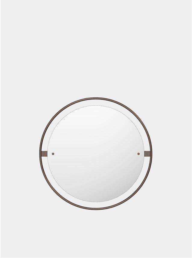 Bronzed Brass Ø60 Nimbus Mirror
